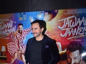 Saif Ali Khan snapped promoting 'Jawaani Jaaneman' in Mumbai