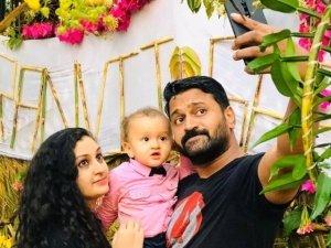 Rishab Shetty Son Ranvit Shetty First Birthday Celebration Photos
