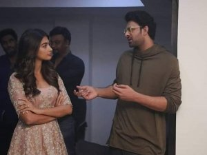 Prabhas And Pooja Hegde  Upcoming Movie muhurth Photos