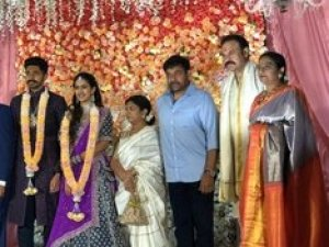 Niharika Konidela and Chaitanya's Engagement