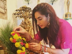Ragini Dwivedi Ganesh Celebration 2020
