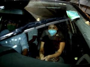 Payal Ghosh at Versova Police Station against Anurag Kashyap