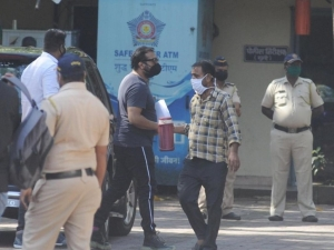 Anurag Kashyap at  Versova Police Station