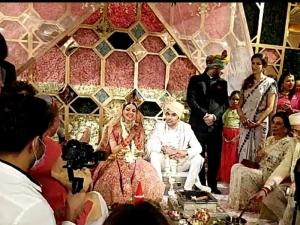 Kajal Agarwal And Gautam Kitchlu Wedding