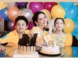 Sanjay Dutt Celebrates Twins' Birthday virtually