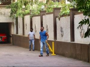 Sohail Khan Playing Cricket At his Residence