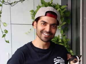 Gurmeet Choudhary shares adorable pictures with his pet friend Pablo