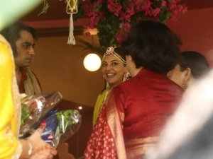 Kajal Agarwal Pre-Wedding Party