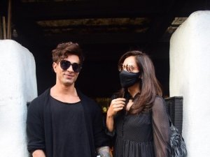 Karan Singh Grover and Bipasha Basu snapped at Hakim's Aalim