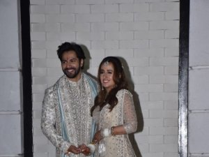 Varun Dhawan and Natasha Dalal Wedding Photos