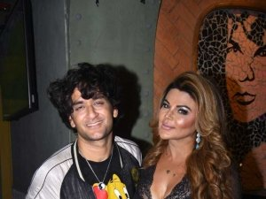 Rakhi sawant get together party after Bigg boss season 8