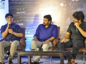 Chiranjeevi Appreciated Wild Dog Movie Team