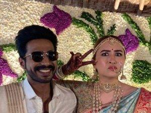 Vishnu vishal And Jwala Gutta Wedding