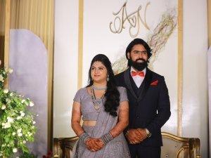 Ashish Gandhi Marries Nikitha