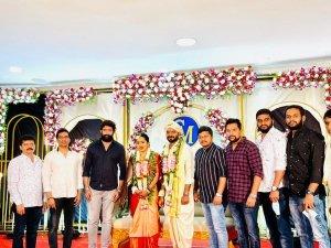 Director Chethan Kumar Wedding