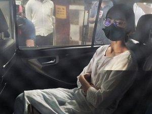 Ananya Panday snapped at NCB office in Mumbai