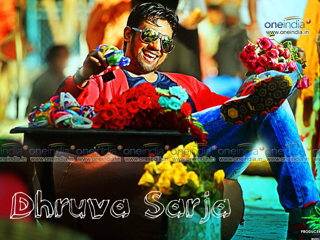 Kannada Actor Dhruva Sarja Wallpaper