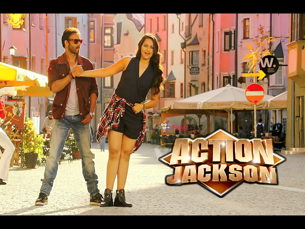Action Jackson Wallpaper