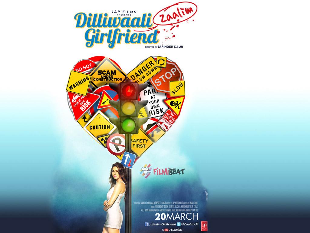 Dilliwaali Zaalim Girlfriend Wallpaper