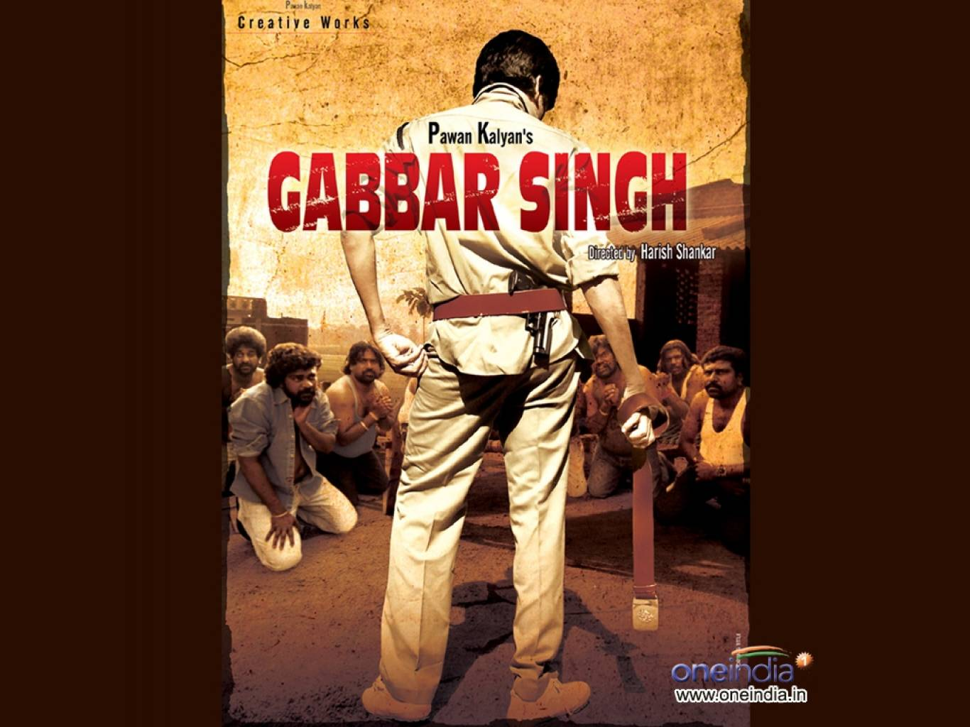 Gabbar Singh Wallpapers