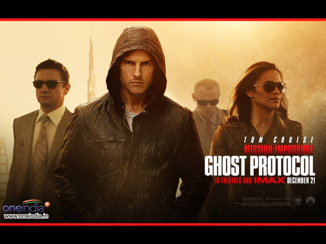 Mission: Impossible - Ghost Protocol Wallpapers