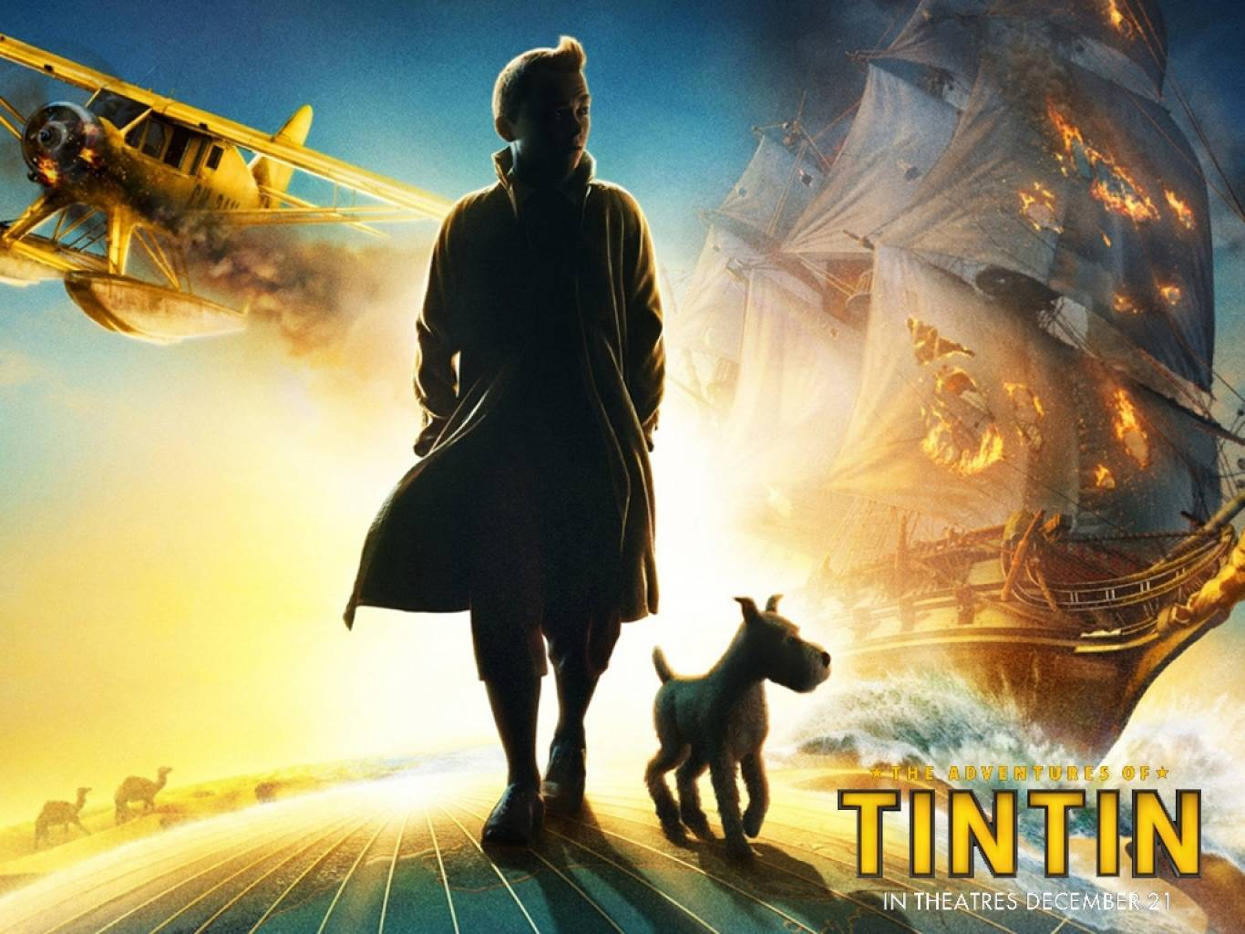 The Adventures of Tintin (2011) Wallpapers