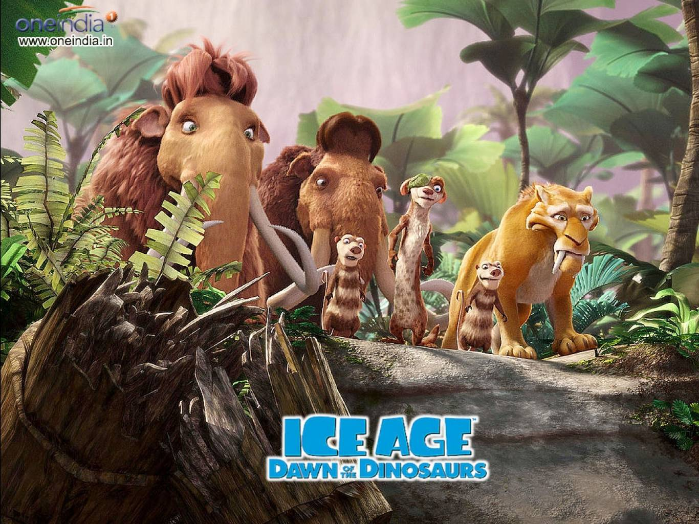 Ice Age: Dawn of the Dinosaurs Wallpapers
