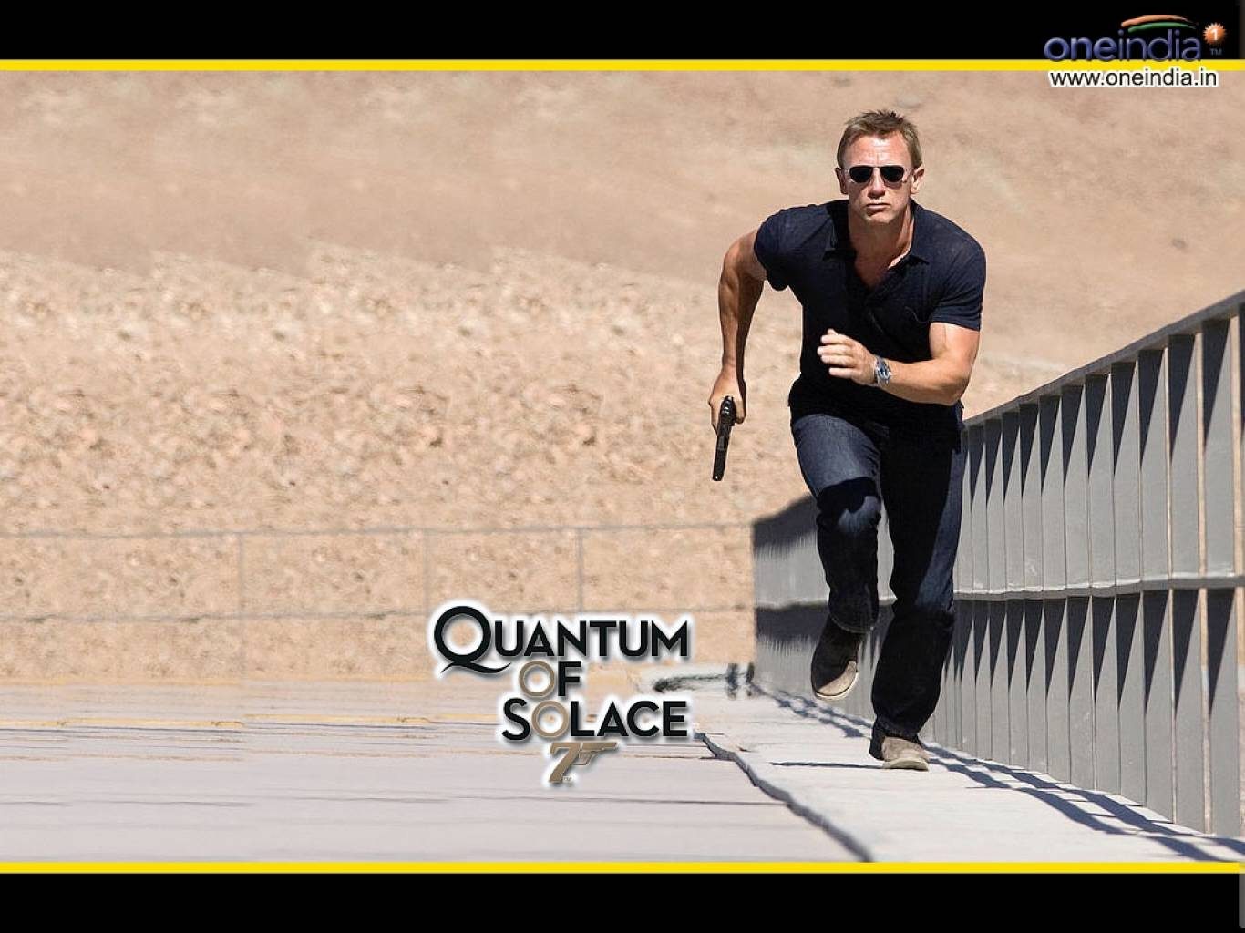 Quantum of Solace 007 Wallpapers