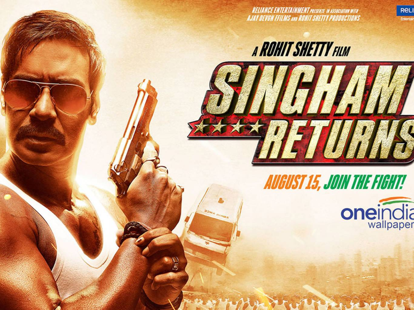 Singham Returns Wallpapers