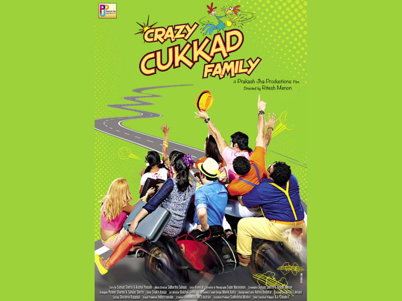 Crazy Cukkad Family Wallpapers