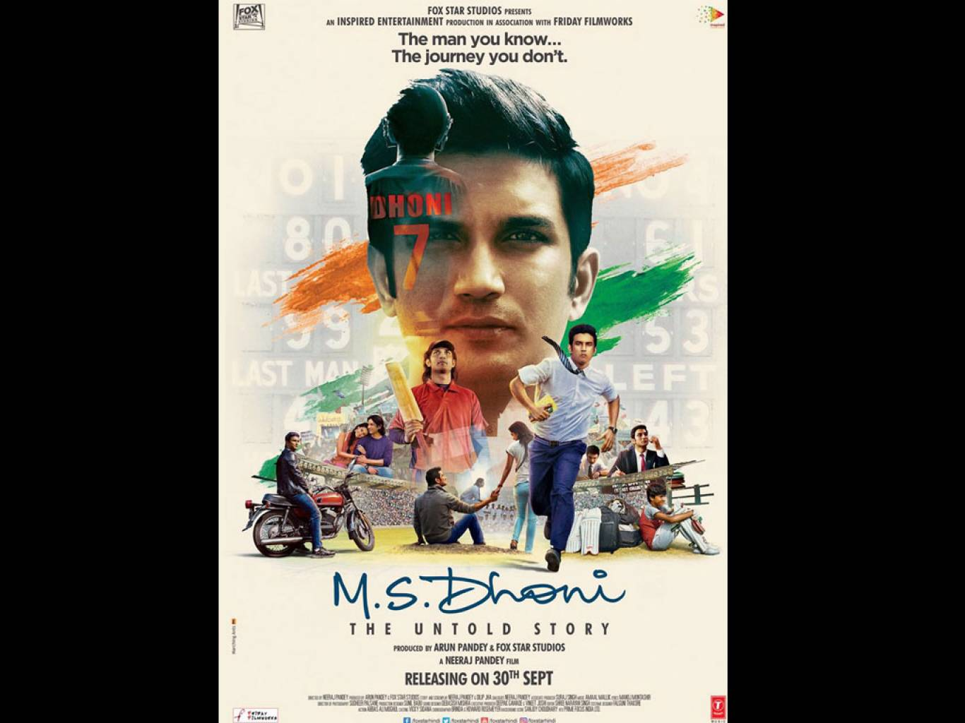 M.S. Dhoni: The Untold Story Wallpapers