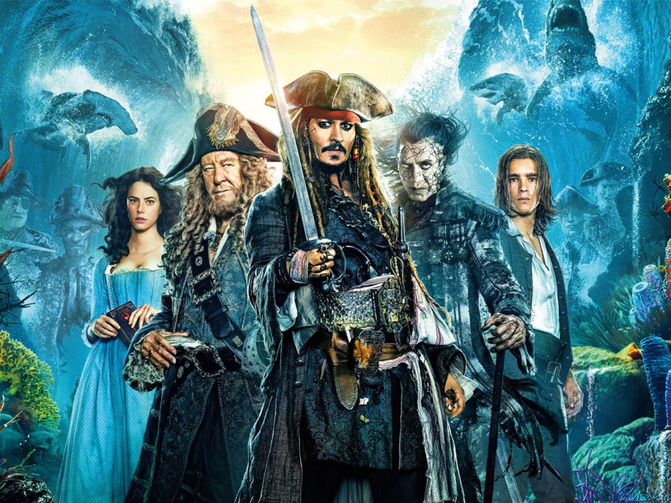 Pirates of the Caribbean: Dead Men Tell No Tales Wallpapers