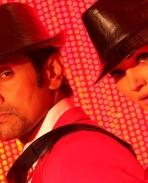 Vikram and Amy Jackson